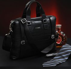 3bc04386842c GSQ Trendy Fashion Business Leather Briefcase for Men   BAGSTORM