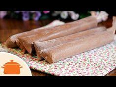 Aprenda a fazer um delicioso Geladinho ChicaBon (chocolate) que fica super cremoso! Ingredientes: - 1 lata de Creme de Leite; - 200g de Doce de Leite; - 2 Co...
