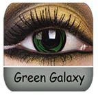 Green Galaxy, Super Cool Eyes $33.99 a Pair :)