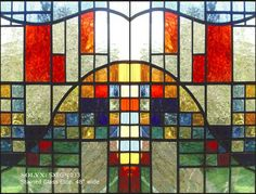 Stained Glass window film to roll out across normal window!