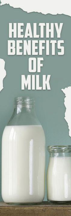 Healthy Benefits of Milk Milk provides the calcium that both children and adults should have in a day it is a perfect source of lean protein vitamin D niacin potassium and has a host of other healthy benefits for you and your family. If you want to know more about the healthy benefits of milk then this article is