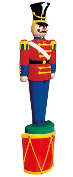 amazoncom life size half toy soldiers outdoor christmas lawn decorations 55 - Christmas Soldier Decorations