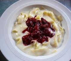 Rezept Vanillenudeln mit Himbeeren von ThermoNixe50 - Rezept der Kategorie sonstige Hauptgerichte