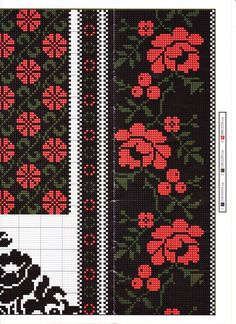 """Summer Into Fall pinafo Folk Embroidery, Cross Stitch Embroidery, Embroidery Patterns, Cross Stitch Borders, Cross Stitching, Cross Stitch Patterns, Knitting Charts, Knitting Stitches, Loom Patterns"
