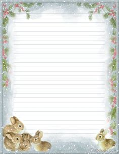 Printable Stationary & More - CreativeReflections