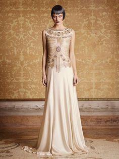 Dress for a Numenorean queen -  Alberta Ferretti