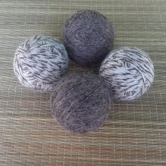 Scented Dryer Balls Felted Dryer Balls by GeorgiaMadeSoaps on Etsy Save 10% on $10 or more with coupon code SAVEME10