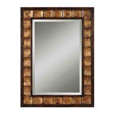 Uttermost 13294 B Justus Decorative Gold Wall Mirror