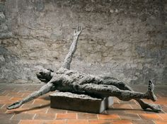 Olbram Zoubek - Son (1971). #sculpture #art #Czechia Sculpture Art, Sculptures, Architectural Sculpture, Bronze, Statue, Sculpture