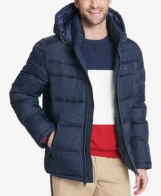 36212abe Men's Quilted Puffer Jacket, Created for Macy's. Tommy Hilfiger Jacket  MenCheap ...
