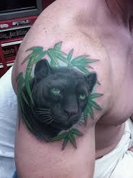 Realistic Black Panther Tattoo - Domantas Parvainis http ...