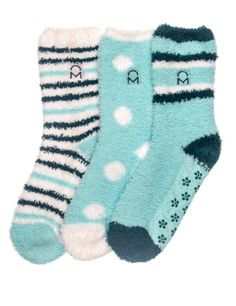 3-Pairs Womens Noble Mount Soft Anti-Skid Fuzzy Winter Socks - Set 1 Noble Mount,http://www.amazon.com/dp/B00DF6FFHO/ref=cm_sw_r_pi_dp_6vuPsb1HBBX19PGD