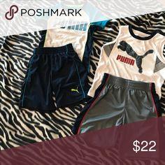 Puma Outfits (2) Size 5 Puma Outfits (2) Puma Matching Sets