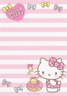 Sanrio Hello Kitty Memo (2013) | Flickr - Photo Sharing!