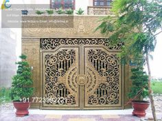 simple iron gate designs new gate design front gate designs for homes iron main gate design house gate House Design, Home Fencing, Railing, Iron Main Gate Design, Wrought Iron Style, Beautiful Doors, Arch Gate, Door Trims, Door Gate