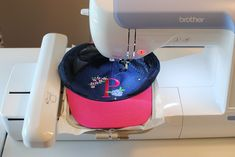 How To: Machine Embroidery on Hats