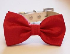 Red Dog Bow tieValentine's Day Gift Dog Lovers Red Dog