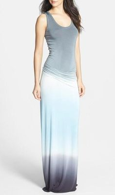"Young Fabulous Broke - Ombre ""Hamptons"" maxi dress"