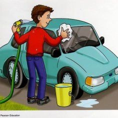 Washing the car (visual) Speech Language Therapy, Speech And Language, Speech Therapy, Painting For Kids, Drawing For Kids, Transport Images, Present Tense Verbs, Sequencing Pictures, Printable Preschool Worksheets