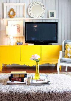 Ideas para decorar la pared de la televisión. | Mil Ideas de Decoración
