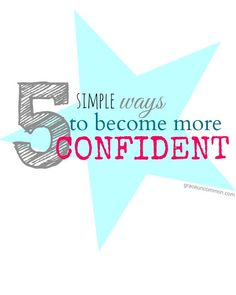 5 simple ways to become more confident. {grace uncommon} confidence boost, confidence quotes, becoming confident Self Confidence, Confidence Quotes, Way Of Life, How To Better Yourself, Social Work, Self Esteem, Better Life, Simple Way, Self Improvement