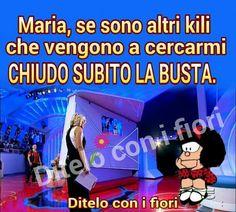 Mafalda sei mitica