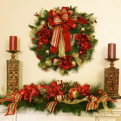 New Christmas Wreaths for 2013! #Christmas #Wreaths #HolidayDecor