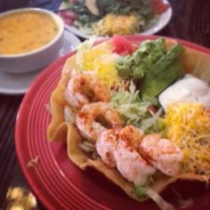 Want shrimp but not feeling our Shrimp Bravo?  Give our Shrimp and Avocado Salad a try instead.