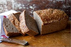 NYT Cooking: This moist, hearty bread slices beautifully for sandwiches or toast. The dough is sticky because of the moisture from the cooked quinoa, but resist the urge to add too much flour. Wheat Bread Recipe, Bread Recipes, Quoina Recipes, Bulgur Recipes, Vegetarian Recipes, Molasses Bread, Date Bread, Sourdough Rye, Country Bread