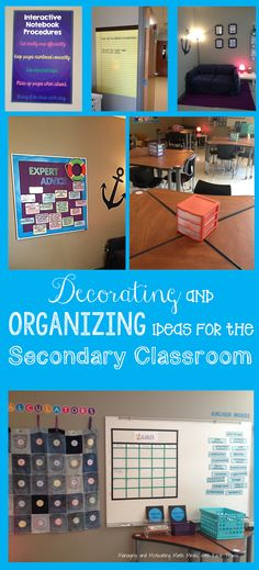 Managing and Motivating Math Minds with Kacie Travis: Decorating and Organizing Ideas for the Secondary Classroom