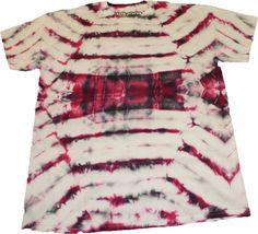 Red & Black TieDye handmade tshirt Tee medium by SteezyWorkz, $17.00
