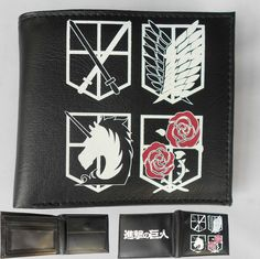 Attack on Titan Wallet ATWL0592