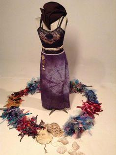 handmade treasures created with LOVE by the captains daughter for fellow sea gypsies. Pirate Garb, Wearable Art, Mermaid, Daughter, Tie, Beautiful, Cravat Tie, Ties, Daughters
