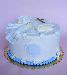 Krasi's christening cake by bubolinkata, via Flickr