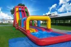 Texas Entertainment Group is proud to introduce the first triple lane giant slide in Texas! http://texasentertainmentgroup.com/attractions/slides/triple-lindy-slide/