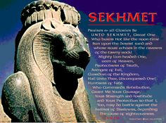 As the Goddess of the Millennium, Sekhmet is VERY present right now. Her energy can be accessed on many levels and throughout many pathways…