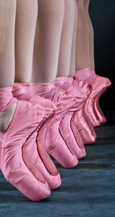 Love this photo- perfect in pink - Ballet slippers  #Luxurydotcom