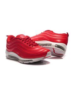 big sale b160c b9882 Nike Air Max 97 Men Red Shoes