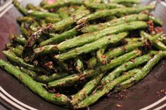 Sautéed Dry String Beans at Hunan Kitchen of Grand Sichuan. (Photo by: Chun's Pictures)