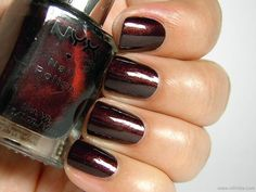 NYX Girls Nail Polish in Sexy Plum