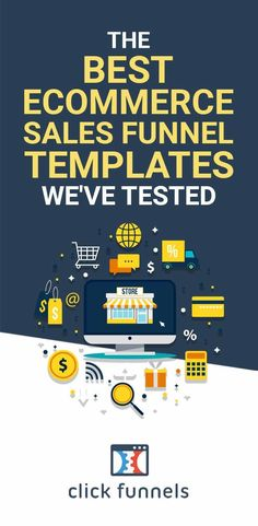 How to make more sales and increase the conversion rate of your website with the best e-commerce funnel templates tested by ClickFunnels. We tested 3 high-converting e-commerce funnel templates which you can get for free! Ready to try the best ecommerce conversion funnels? #ecommerce #funnels #funneltemplates Sales And Marketing, Online Marketing, Building Software, Squeeze Page, Sales Letter, Sales Process, Building A Business, Ecommerce Store, Create Words