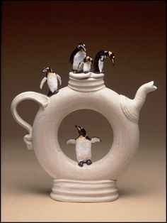 """Little Penguins"" teapot"