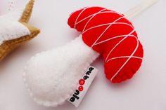 Filcowe ozdoby świąteczne (proj. by.boonia), do kupienia w DecoBazaar.com