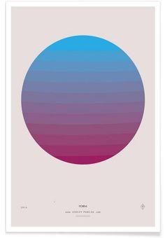 Senses - Form als Premium Poster von Ash Nico | JUNIQE