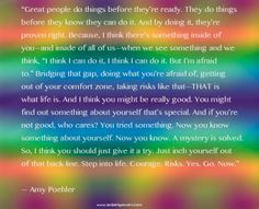 Amy Poehler says it all