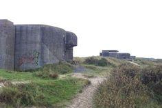 Bunkers IJmuiden aan Zee die rijksmonument worden. Foto Fokke Zaagsma