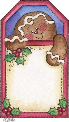 Laurie Furnell - Christmas Tag (printable)