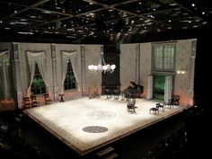 A Midsummer Night's Dream. La Jolla Playhouse. Scenic design by Neil Patel. 2010