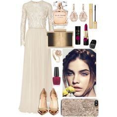 Cinderella by sonny-m on Polyvore featuring Elie Saab, Gianvito Rossi, Suzanne…