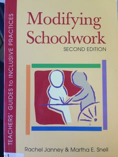 Modifying Schoolwork - Teacher Guide #LendingLibrary #CheckitOut Lending Library, Special Education, Check It Out, Teacher, Professor